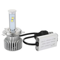 Wholesale Hot selling H4 A V K X7 high brightness Car H4 Cree LED Headlight Bulbs All in one Conversion Kit
