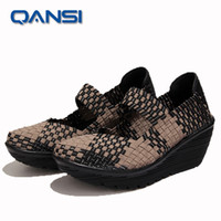 american wedges - European and American Style lady girls party shoes zapatos mujer wedge heel Comfortable summer gladiator sandals sexy woven shoe