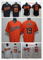 baltimore baseball player - Orioles Baseball Jerseys Men DAVIS White Black Orange Jerseys Stitched Baltimore Orioles Chris Davis Flexbase Player Jerseys Hot Sale