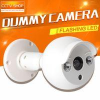 Wholesale Surveillance Dummy Fake Camera Security CCTV Camera Outdoor For Home Security Night CAM LED Light Emulational Fake Camera