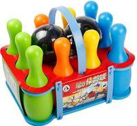 Wholesale Children s cartoon puzzle bowling toys children fitness sports toys parent child play toys