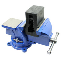 Wholesale Bench Vise with Anvil with Swivel Locking Base Heavy Duty All Steel