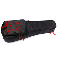 Wholesale 21 Inch Newly Fashion Acoustic Guitar Gig Bag One Back Pocket Gig Bag Electric Guitar Bag Case for Mini Guitar Ukulele