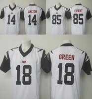 andy white - 2016 Rush Limited Bengals Mens Jerseys Andy Dalton A J Green Tyler Eifert Stitched White Free Drop Shipping