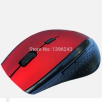 Cheap Free shipping New Hot Sale 2.4GHz Wireless Optical Gaming Mouse Mice For Computer PC Laptop Black Best price for Wholesale