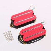 Wholesale Guitar Humbucker Pickup Set Bridge and Neck Ceramic Magnet H011