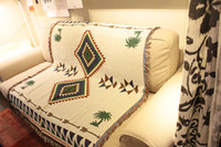 bedspread cotton thread - Navajo Aztec Rugs Tribal Bohemian throw wall hangings bedspread thread towel geometric Hippie Blanket beach towel Nordic home decor