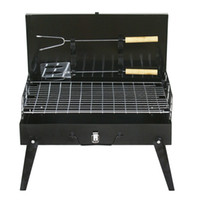 Wholesale Tailgate Parties Car Camping Portable Folding Steel Charcoal Grill for Cookouts