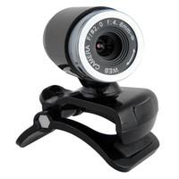 Wholesale 2016 Hot Sale USB MP CMOS HD Webcam fps Camera MIC for Computer PC Laptop Desktop High Quality