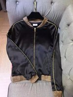 baby bomber jackets - fashion new autumn baby beading jacket contrast color rib full sleeve mandarin collar coat bomber women high quality