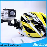 action camera reviews - Cheap A8 P HD waterproof action camera review M under water diving sports recorder video camcorder C