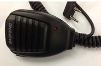Wholesale 20pcs J1015A Pin High quality Mini PTT Speaker MIC For Radio QUANSHENG PUXING WOUXUN TYT HYT BAOFENG UV5R