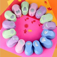 Wholesale Kid Child large Printing Paper Hand Shaper Scrapbook Tags Cards Craft DIY Punch Cutter Tool multi Styles freeshipping The figure cm H672