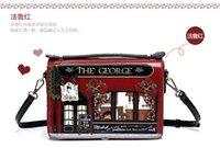 Wholesale 2016 new women handbags lady shoulder bags handbag woman ladies leather cartoon vintage mini hand bag