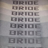 Wholesale JDM BRIDE Seats Gradation Fabric Interior fabric M x1 M Front Rear seat Cover