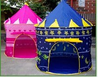 Wholesale Newest Baby Kids Children s grils boys Children Princess Tent Child outdoor tent gift tent house of games