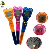 ball point game - Virtual Pet game brio transparent keychain tamagochi ball point pen in electronic game toys with colors