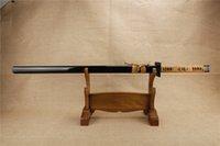 antique wood handle - NEW katanas swords katanas samurai japanese swords high carbon steel Sharp katana bushido Full tang iron Tsuba handle