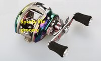Wholesale Baitcasting Reel Ball Bearings Left and Right Hand Bait Casting Fishing Reels Coil Gear Pesca Baitcast Reel