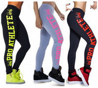 athlete women - Pro Athlete Sports Pants Run Training Elastic Capris Jogging Gym Trousers Bodybuilding Quick Dry Tight Track Leggings D Print LNSLgs
