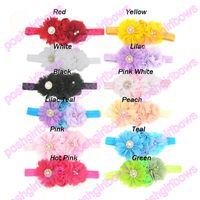 american girl fabric - Satin Layered Flower headband silk rose flower wedding Lace Vintage girl hair accessories