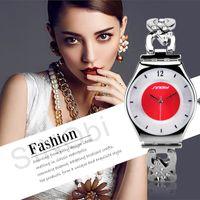 antique brass hooks - SINOBI Super Slim Quartz Casual Watches Women Diamond for Ladies Antique SINOBI Brand Watch Females Fashion Wrist Watch Bracelet Clock