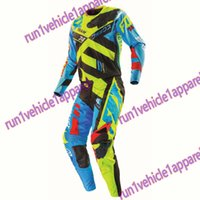 auto racing gear - Racing Divizion Combo Motocross Dirtbike MX Riding Gear Jersey Pant motorcycle clothing set