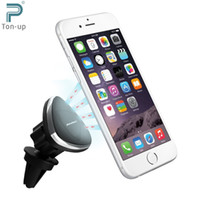 Wholesale Excelvan Ultimate Magnetic Air Vent Car Phone Holder Mount Degree Rotation Fits Any Cell Phone Mini Tablet And GPS