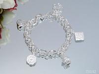authentic silicone bracelets - Luxury Woens bracelet heart Leather Authentic Love Sterling silver women bracelets bracelets