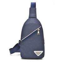 Wholesale Leisure Sling Bag Casual Nylon Chest Bag Shoulder Daypack Bag Hiking Crossbody Bag Travel Unbalance Backpack For Men and Women