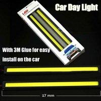 aluminum baseboards - High Power CM Ultrathin COB LED DRL Car Daytime Running Light with led lights and Aluminum Baseboard and waterproof IP65