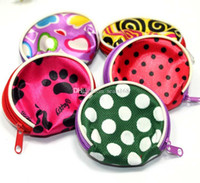 baby changing bag pattern - Free DHL New Children Cute Flowers Pattern Coin Purse Baby Polka Dot Change Purse Kids Handbag Bag Mixed Girls And Women Wallet ZJ N05
