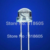 Wholesale 100 mm Straw Hat LED Ultra Bright Pure White LED Diode Round Water Clear Cool White Color
