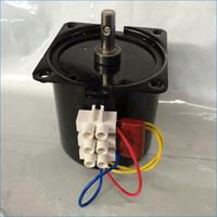 ac geared motors - 220V KTYZ permanent magnet ac geared motor synchronous ac motors low speed motor speed rpm J15005