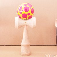 Wholesale candy001 and basketball beech wood more color kendama good iridescence chromosphere and kendama pill