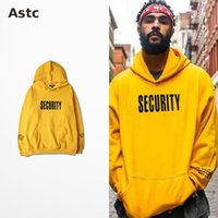 active coupling - Vfiles Security Print Hoodie Justin Bieber Fog High Street Sweatshirt Bibb Purpose Tour Yellow Hoodie Fear of God Couple Bts