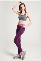 Wholesale Hot sale Women Yuga Clothing Sports Pants Leggings For Female Workout leggings Sport Fitness Bodybuilding Running seamless pants