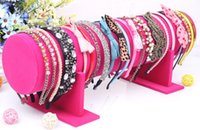 big band stands - pc Hot selling New Big Size cm Fabric hair jewellery headband display hair band holder stand Hairband Show Shelf