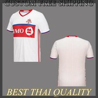 Wholesale ew Product Thailand Toronto FC GIOVINCO ALTIDORE BRADLEY Soccer Jersey Red White Football Jersey Full shirt