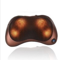 Wholesale 2016 New set Shiatsu Back Massager Electric Neck Shoulder Heated Massage Pillow Kneading