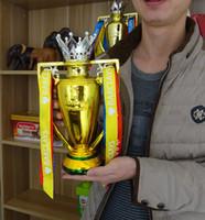 barclays premier league trophy - Golden Premier League Trophy FA Barclays Champion Cup Limited Edition