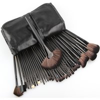 belt making kit - Big discount Professional New pcss Black Cheap Makeup Brushes Cosmetic Make Up Set with belt