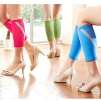 Wholesale Knitted Calf Compression Running Sleeve Socks K00050 BAR
