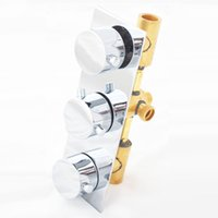 Wholesale Bathroom Faucet For Shower Brass Chrome Surface Shower Valve Hot And Cold Control Mixers Shower Cartridges Filters