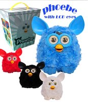 Wholesale Furby Plush Toy Talking Phoebe with LCD EyeFs Firbi dolls Recording Pelucia Electronic Toys electronic pet toys Xmas Gift for kids D463