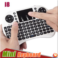 Wholesale Rii i8 Keyboard Combo G Mini Wireless Air Mouse with Remote Touchpad for PC Pad Andriod TV Box MXQ Pro Smartphoones OTG