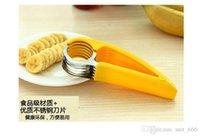 banana splits - Children stainless steel cut ham cucumber banana split fruit knife cut fruit slicer cut fruit banana artifact