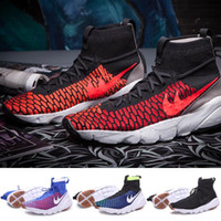 ankle boots with low heel - Brand new Men Ankle Footscape Magista shoes Boots with five colors Patchwork Breathabel Style EUR Size