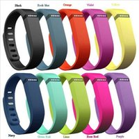 Wholesale Fitbit Flex Band With Clasp Replacement TPU Wrist Strap Wireless Activity Bracelet Wristband With Metal Clasp Opp Package
