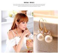 beautiful pearl jewellery - Hot Pearls Earrings Bow Stud fashion pearls beautiful jewellery wedding Jewelry for women girls